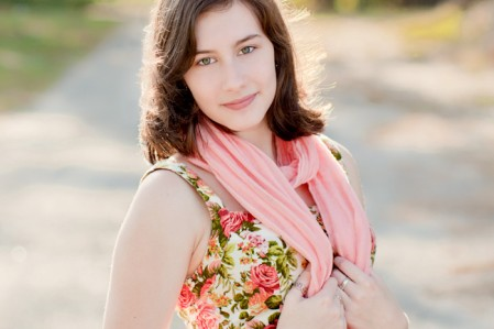 HIgh School Senior Portrait by Julie Megnia Photography