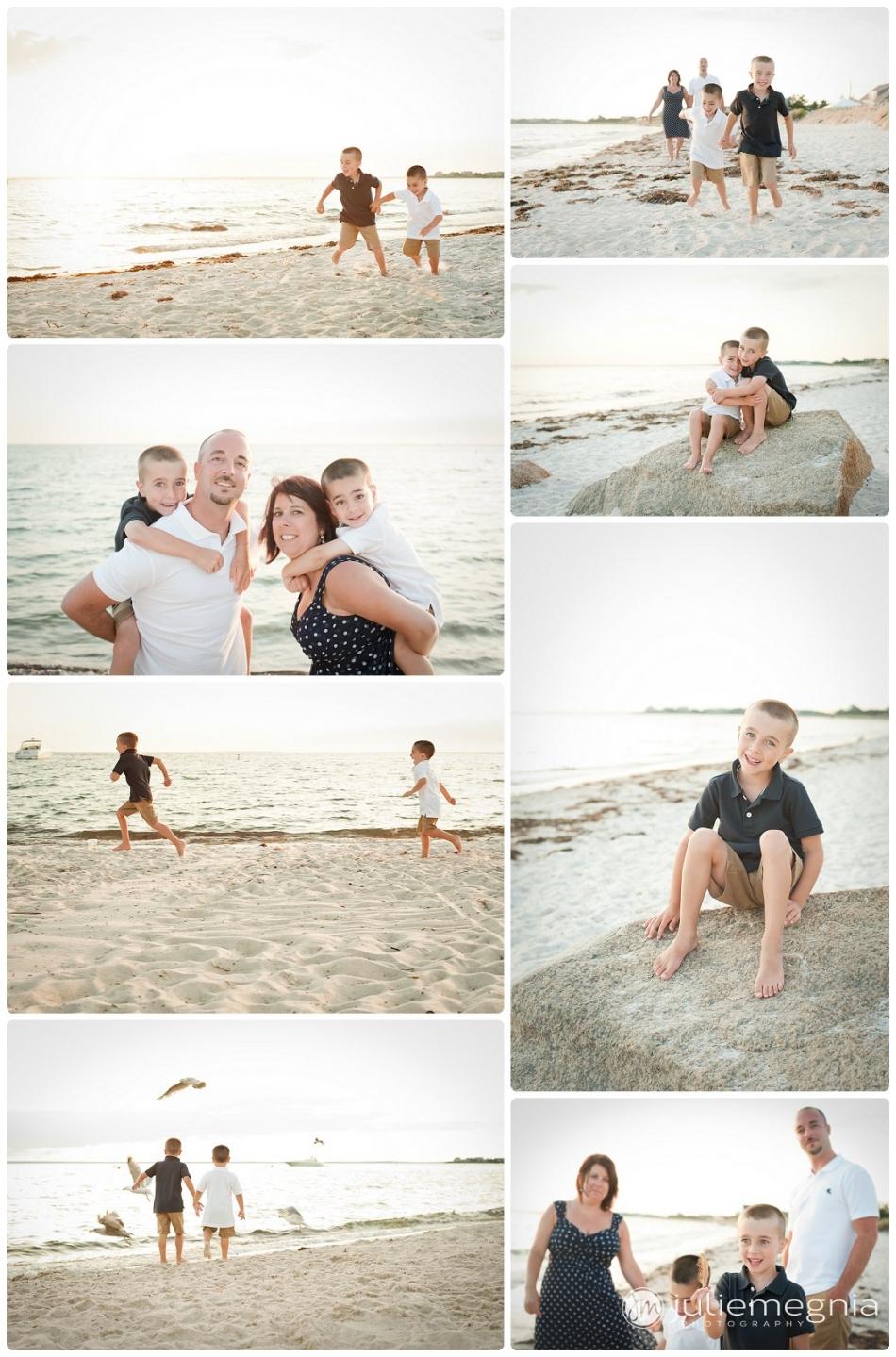 Family Portrait Old Silver Beach Cape Cod