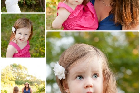One Year Old Baby Photography Session