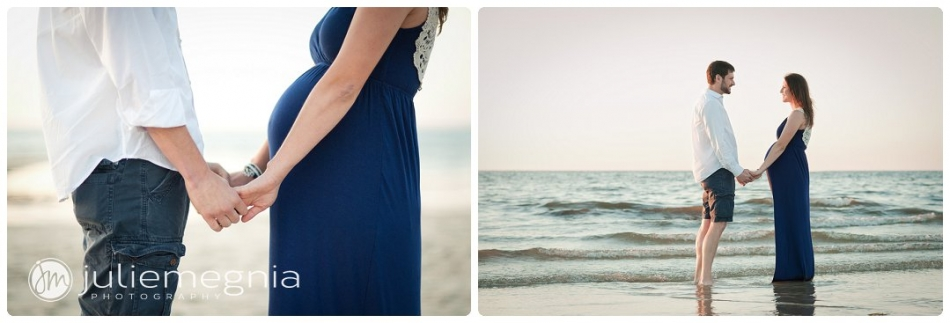 Beach Maternity Portrait Session