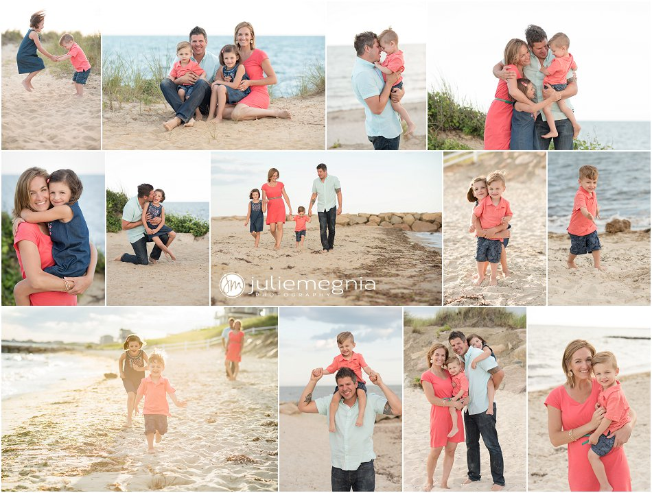 lifestyle beach family portraits dennisport