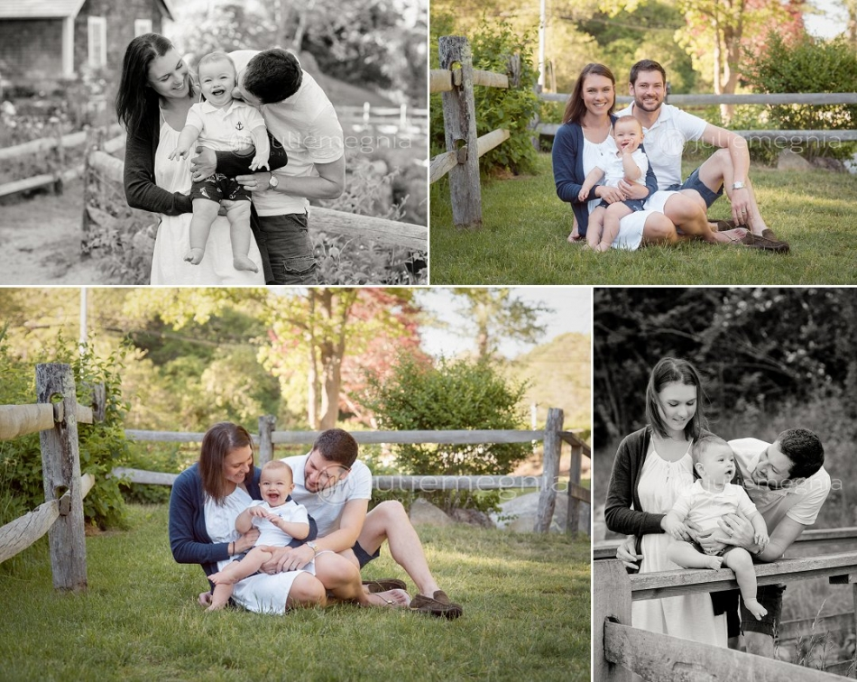 Candid Baby and Family Portraits Cape Cod Photographer