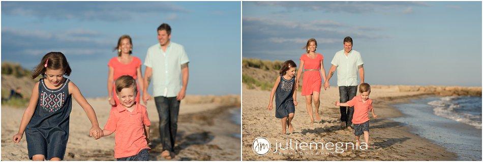 lifestyle beach family portraits dennisport
